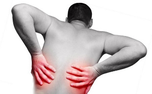 The main characteristics of pain in the back