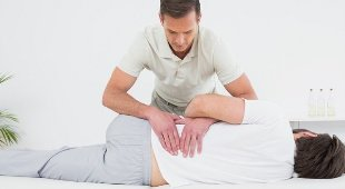 back pain in the lumbar region massage