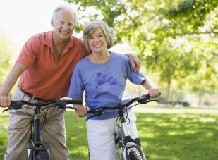 The benefits of cycling in the early stages of gonarthrosis